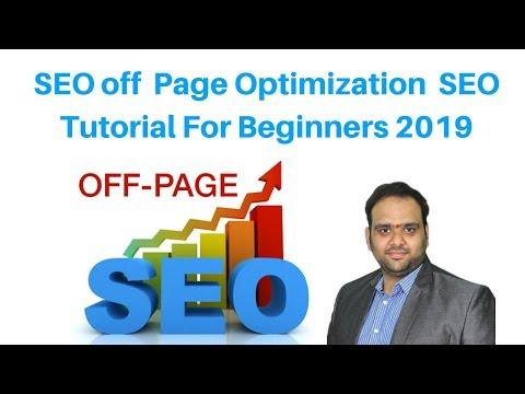 SEO Off  Page Optimization  SEO Tutorial For Beginners 2019 | Digital Marketing Tutorial