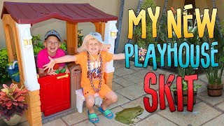 Frogs in My Playhouse! Playtime Skit
