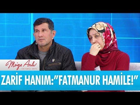 """Zarif Hanım:""""Fatmanur hamile!"""" - Müge Anlı İle Tatlı Sert 8 Şubat 2018"""