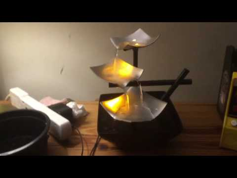 Homedics EnviraScape Relaxtion fountain (SilverSprings) Review