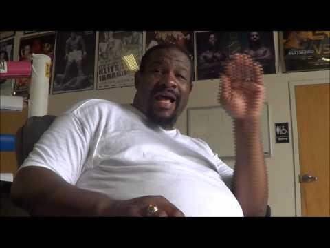 Riddick Bowe explains why he threw WBC belt in the trash & didn't fight Lennox Lewis