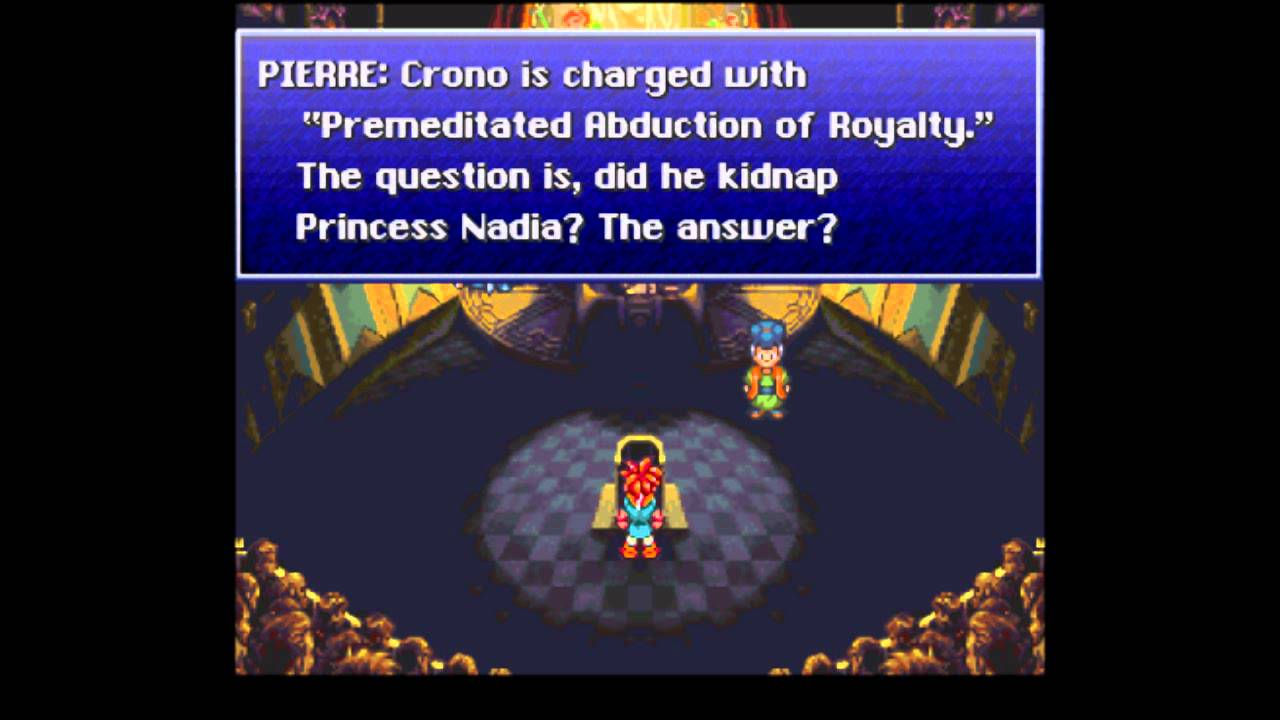Image result for chrono trigger trial