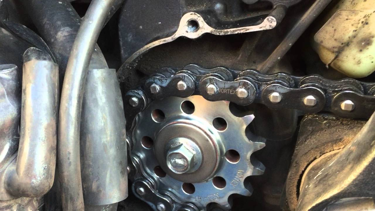 Front Sprocket Noise 2008 Cbr1000rr Youtube