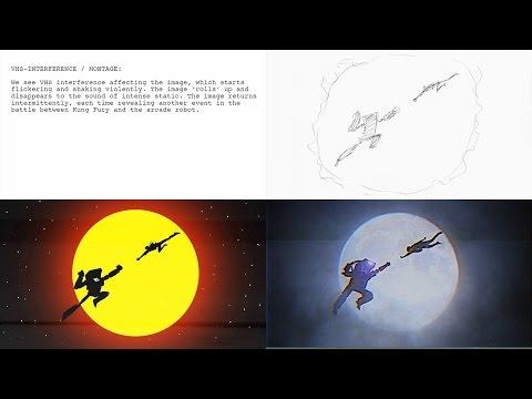 Storyboard: Kung Fury vs Arcade Robot