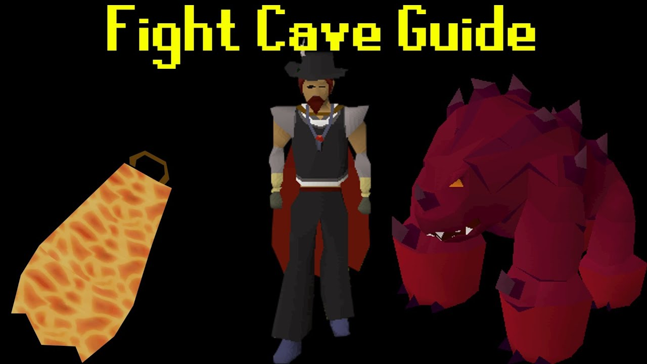 Oldschool Runescape Fight Caves Guide In Depth Youtube
