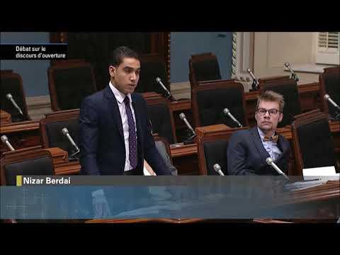 Passage de mon intervention lors de la 69ème législature du PJQ