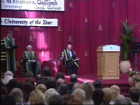 Nelson Mandela's Honorary Conferring at NUI Galway in 2003