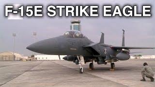 F-15E Strike Eagle Landing and Taxi