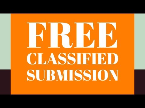 How To Free Post Ads On Free Classifieds | Online Classified Submission