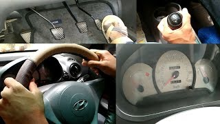 Basics to drive car in telugu