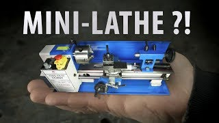 The Infamous Mini Lathe!