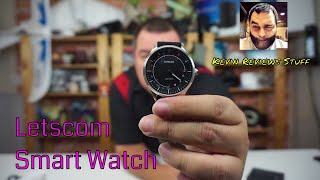 Review of the Letscom Smart Watch