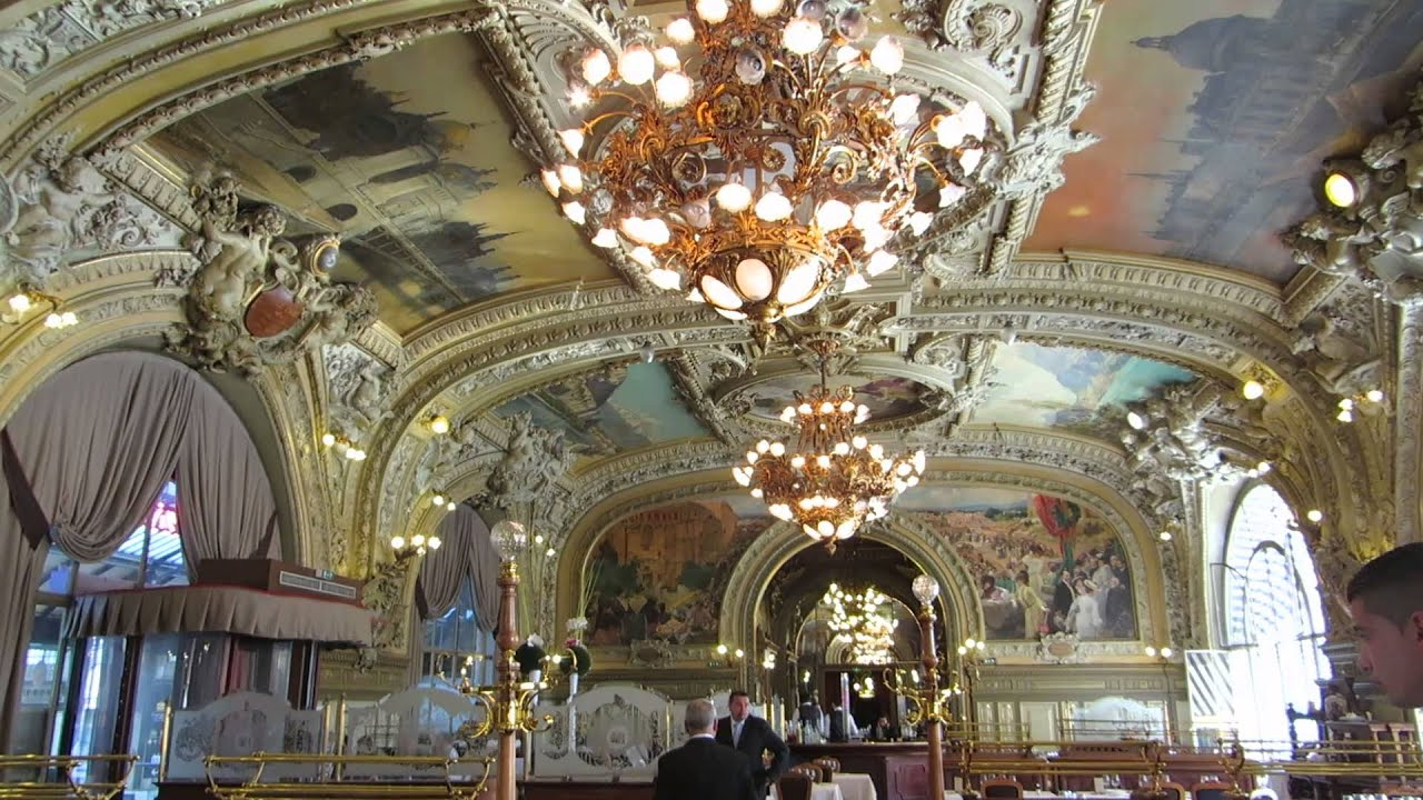 Top Restaurant Le Train Bleu at the Gare du Lyon in Paris - YouTube HH41