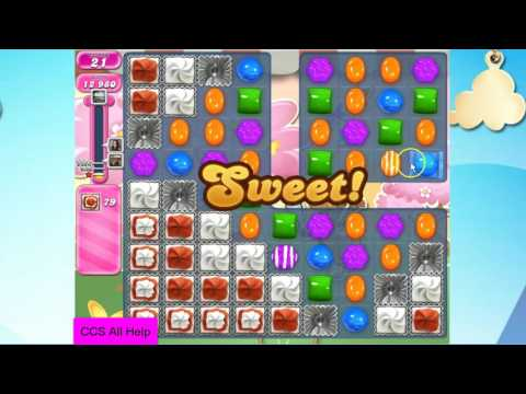 Candy Crush Saga Level 2478 NO BOOSTERS Cookie