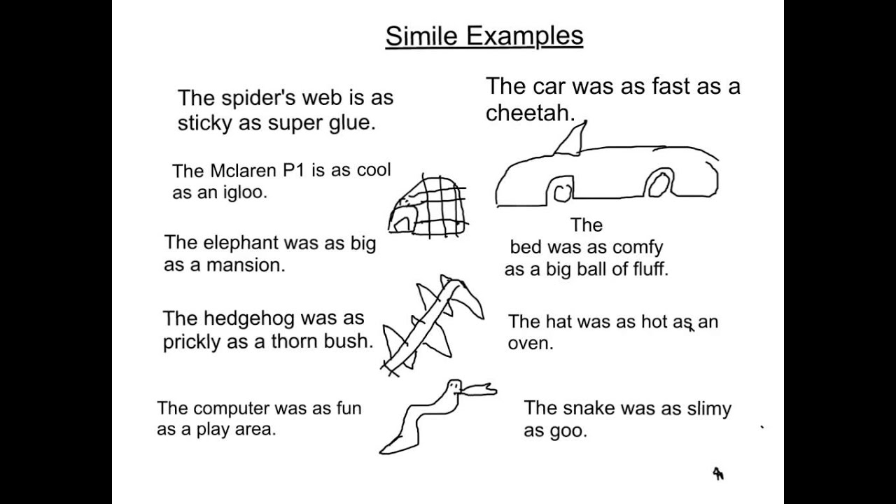 Simile Sentences By Leo And Gabriel YouTube