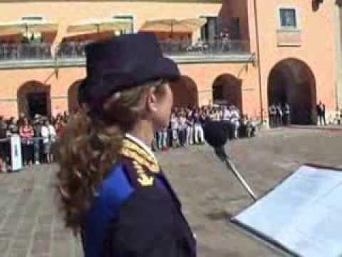 Giuramento polizia di stato Caserta 186° corso 24 settembre 2013 ...
