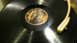 """Scarce 16"""" single sided SHELLAC 1931 Record played on a RCA VICTOR TRANSCRIPTION PLAYER"""