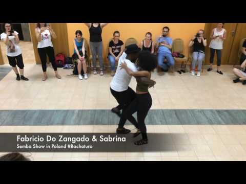 Fabricio Do Zangado & Sabrina SEMBA SHOW in Poland @Bachaturo