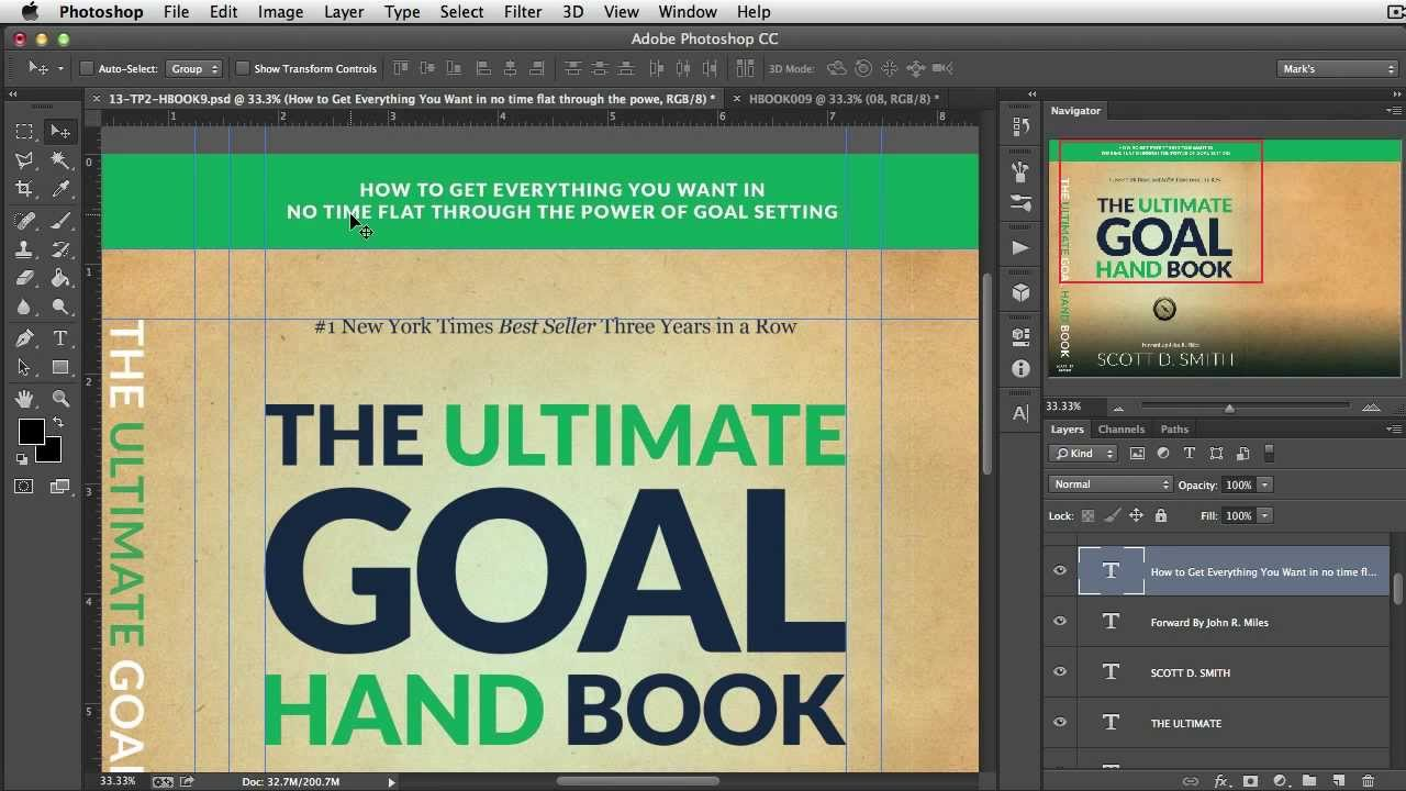 Book Cover Design Tutorial In Photo ~ Free d ebook cover templates newsletter template