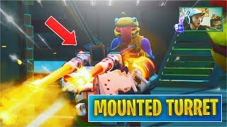 fortnite mounted gun