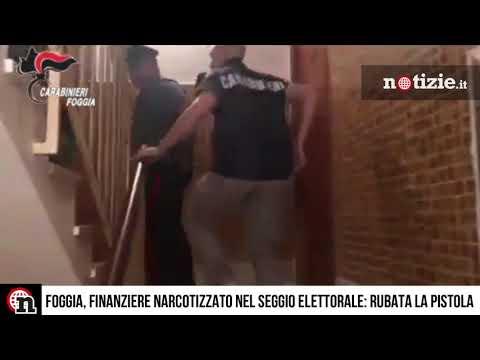 Foggia, finanziere narcotizzato nel seggio elettorale: rubata la pistola d'ordinanza