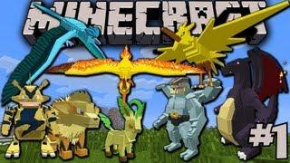 Minecraft - Pixelmon - #1
