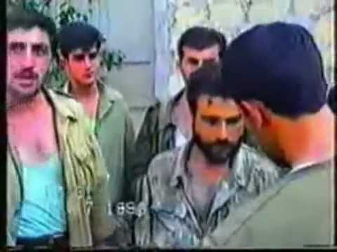 Aрмянин попал в плен в Карабахе. (Captured Armenian In Karabakh)