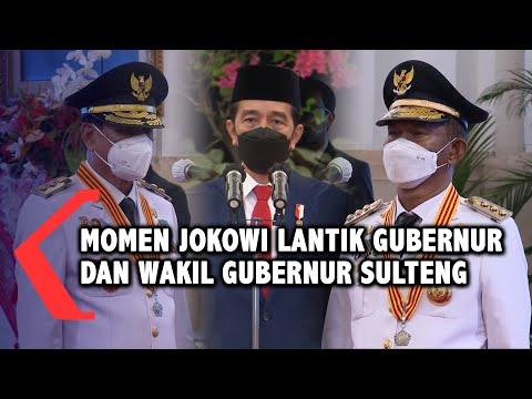 Sah!! Presiden Resmi Lantik Gubernur Dan Wakil Gubernur Sulawesi Tengah 2021 - 2024