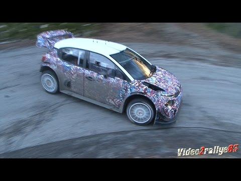 Test Citroen C3 WRC 2017 - K. Meeke - S. Lefebvre - Monte Carlo 2017 By PapaJulien