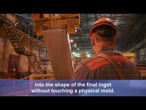 Shaping Ingot at Alcoa Warrick Operations