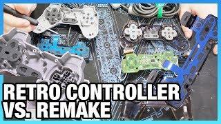 PlayStation Classic Controller Tear-Down vs. PS1 Original