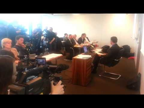 Rufmord an Christoph Mörgeli? Schweizer Fernsehen unter Druck (Videosequenz der PK)