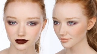 red hair makeup tutorial
