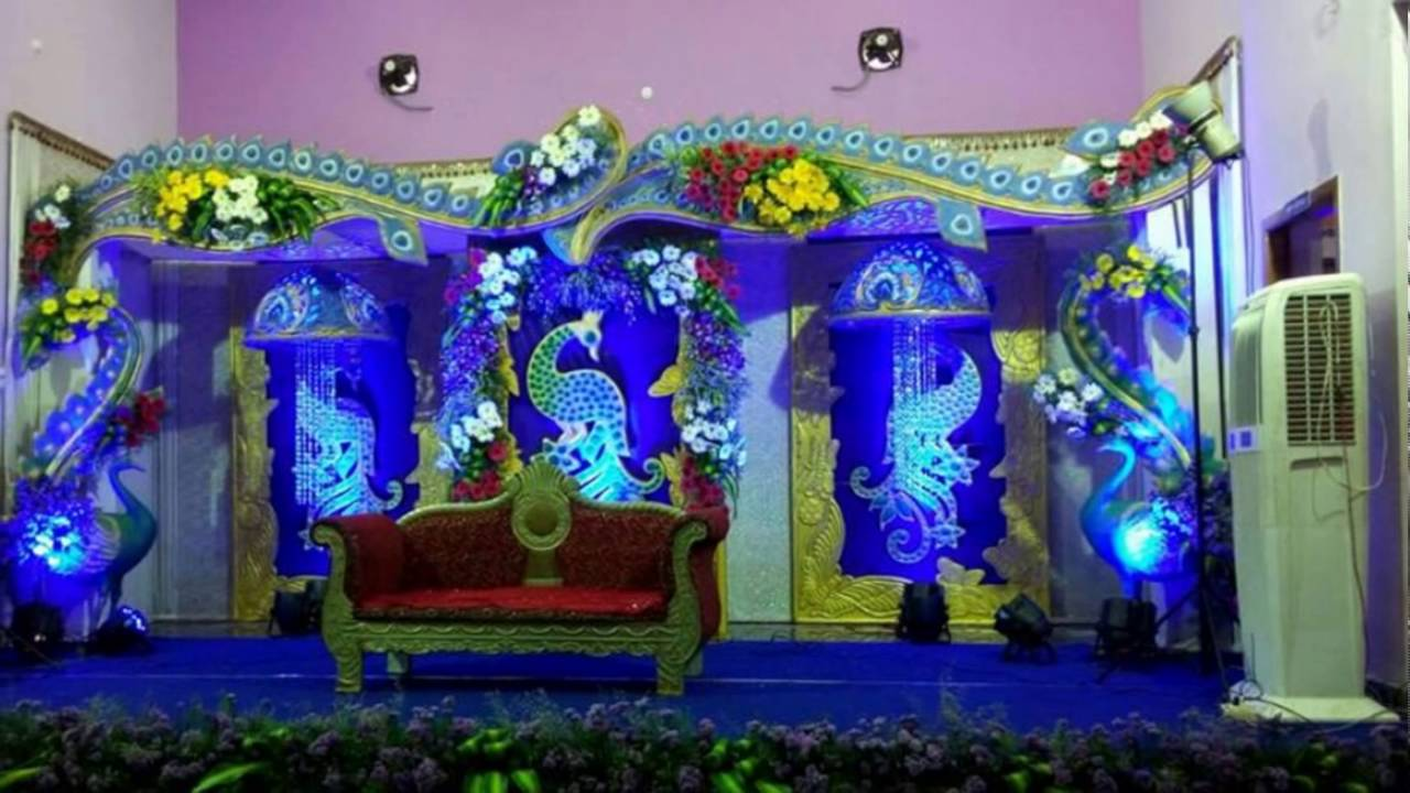 Madurai Decorators Manavarai Wedding Stage Decoration