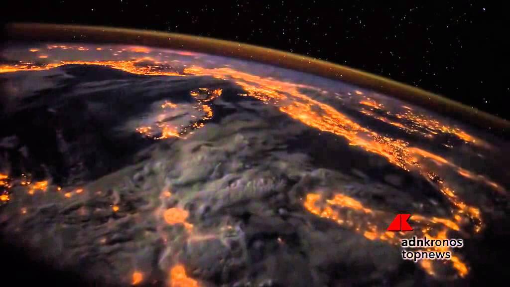 L 39 europa di notte vista dallo spazio youtube for Foto spazio hd