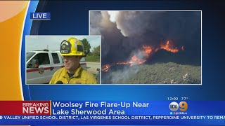 Woolsey Fire Flares Up Near Thousand Oaks, New Evacuations Issued