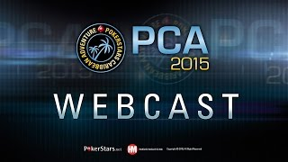 Pca 2015 Live Poker Tournament – Pca Main Event, Day 5