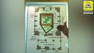 تغطية ركن تطور عمارة المسجد النبوي الشريف بجناح الرئاسة بالمهرجان الوطني للتراث والثقافة 32