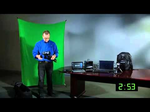 NewTek TriCaster Mini - How to setup a television studio in about 5 minutes