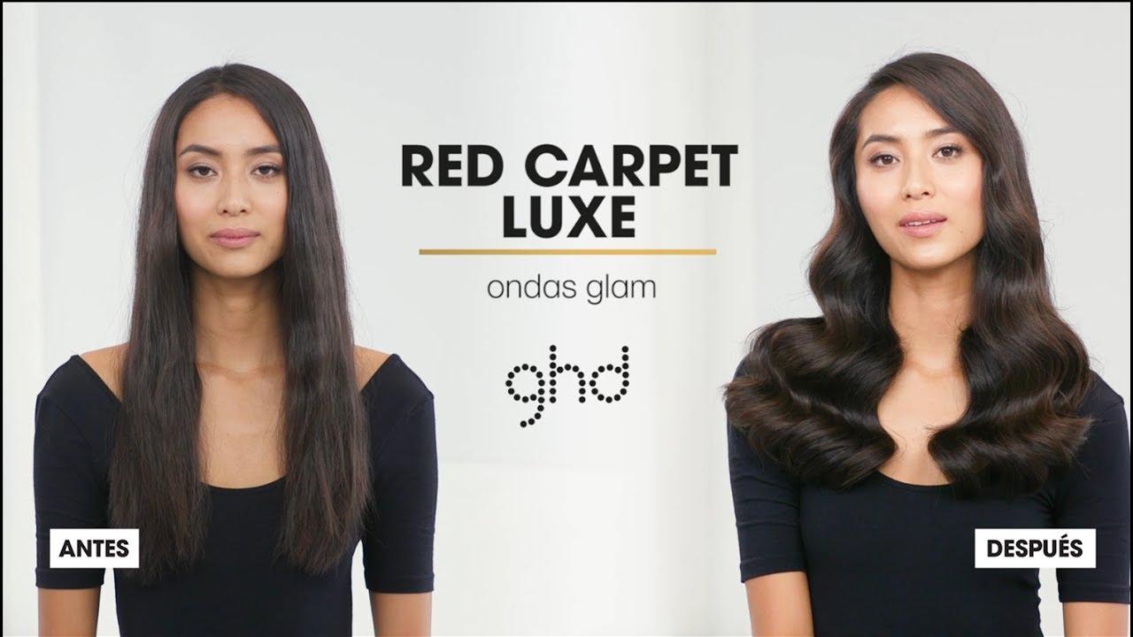 tutorial peinado ghd ondas glam styler ghd platinum
