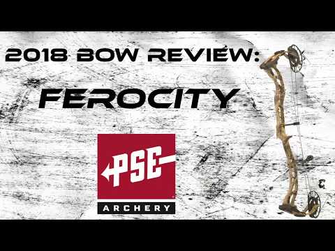 Bow Review: 2018 PSE Ferocity - hmong video