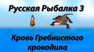 Русская Рыбалка 3.99 Кровь Гребнистого Крокодила.