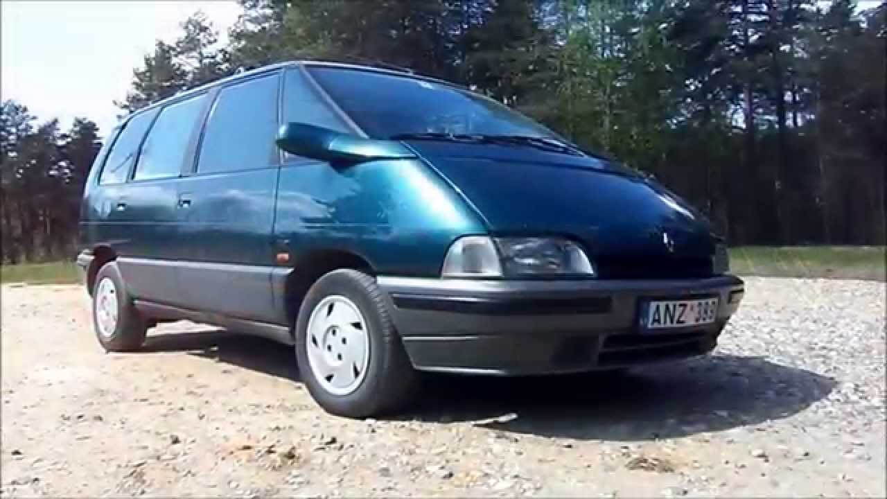 renault espace ii youtube. Black Bedroom Furniture Sets. Home Design Ideas