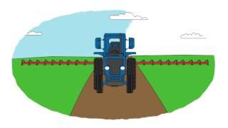 Zeichentrick-Malbuch - Die Landwirtschaftstechnik