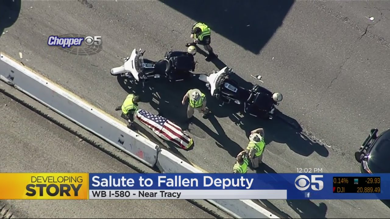 Off-Duty Sheriff's Deputy Killed In Collision With Tesla Bus On I-580