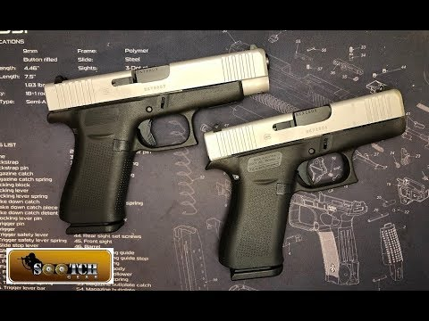 New Glock G43x G48 First Look Youtube