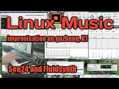 linux music improv midiplus classic 49 midi controller and linux youtube. Black Bedroom Furniture Sets. Home Design Ideas