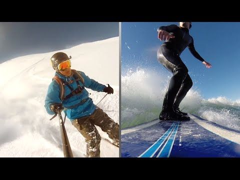 5 Places to Surf and Ski on the Same Trip | POPSUGAR Travel