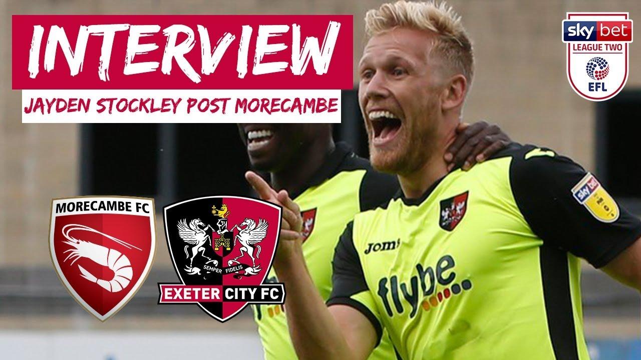 Jayden Stockley post Morecambe | Exeter City Football Club ...