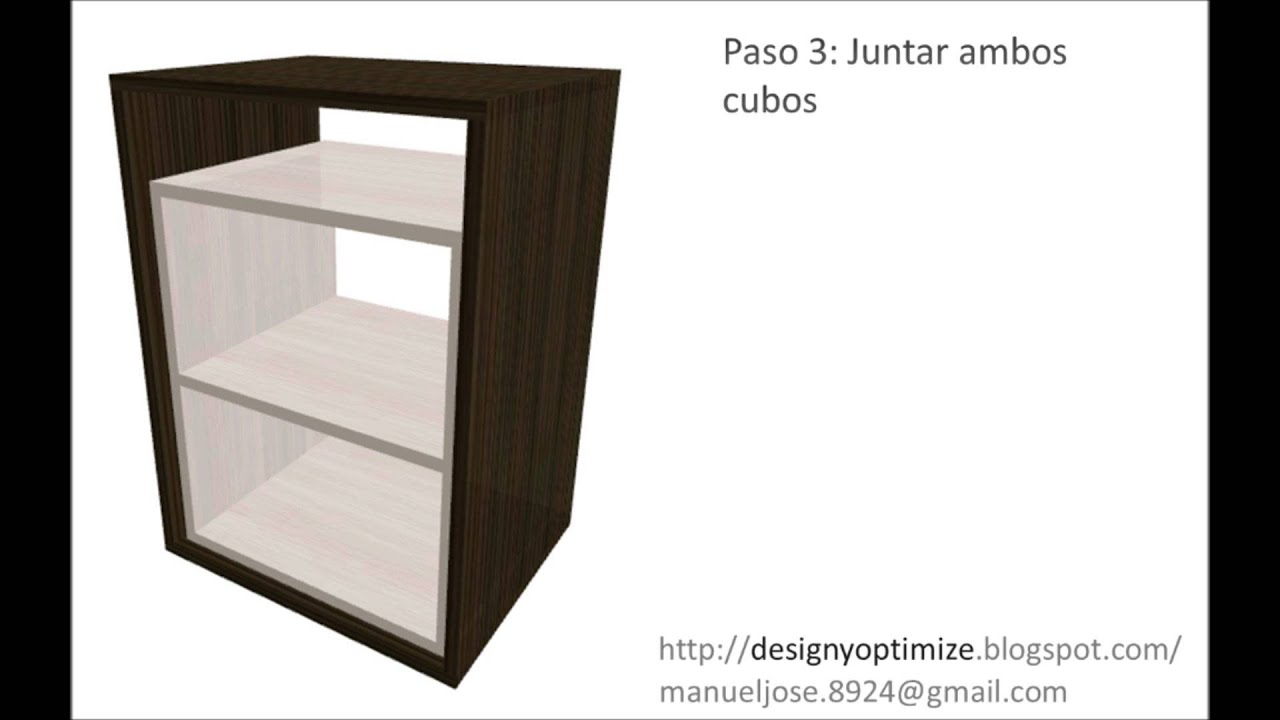 Planos como crear o construir mesa de noche gabinete - Como hacer una mesa de ordenador ...